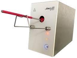 Esterilizador elétrico para laboratório