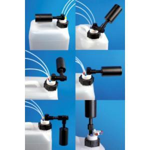 Conexões para filtros das tampas de bombona
